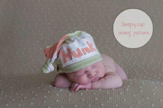 Newborn Sleepy Cap Sewing Pattern Etsy