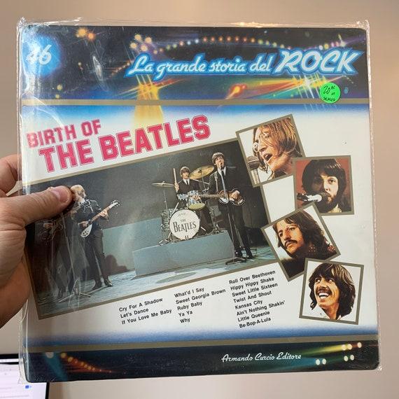 The Beatles Le Grande Storia del ROCK italian pressing vinyl record album SEALED mint condition Birth Of The Beatles