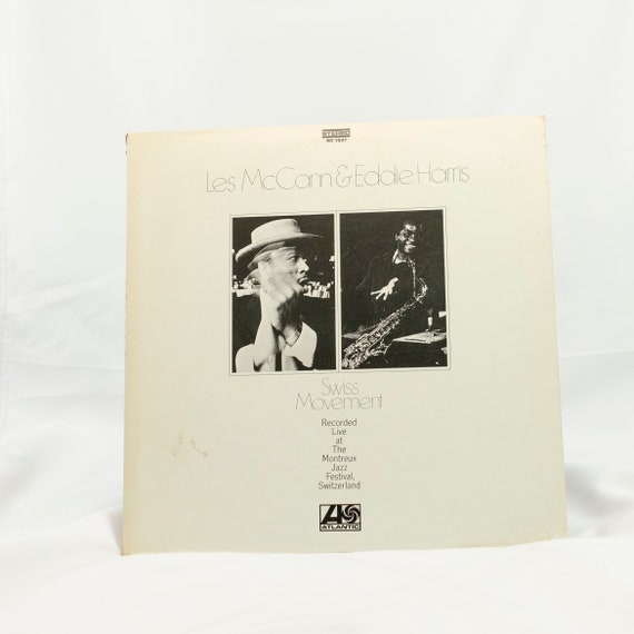 Les McCann & Eddie Harris : Swiss Movement - Vintage Vinyl Album