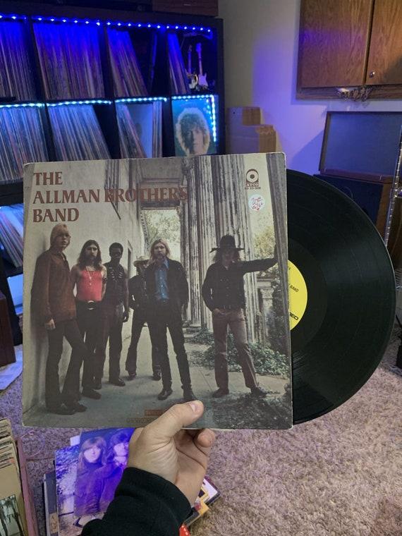 Allman Brothers Band vinyl record 1969, Vinyl LP, Gatefold/PR Atco Records, US, sd 33-308