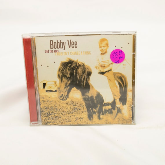 Bobby Vee and The Vees : I Wouldn't Change A Thing - Vintage CD Album