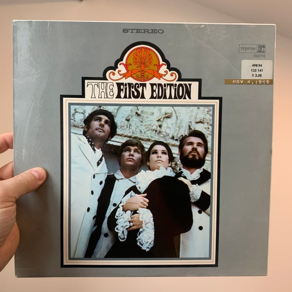 Kenny Rogers and The First Edition debut original pressing vinyl record album VG+ Big Lebowski