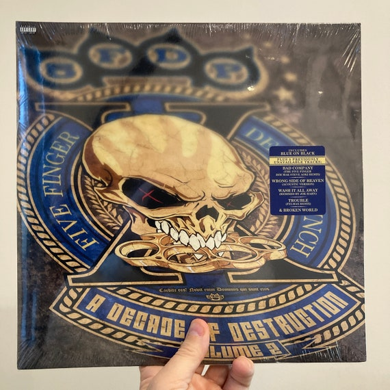 Five Finger Death Punch A Decade of Destruction volume 2 vinyl record album SEALED MINT