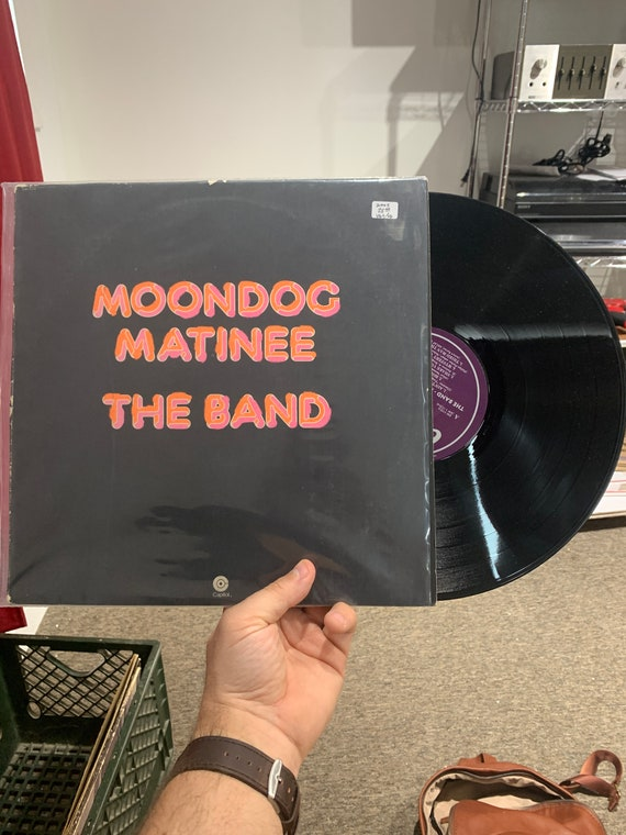 The Band Moondog Matinee vinyl record 1973, Vinyl LP,  Los Angeles Pressing Capitol Records, US, SW-11214