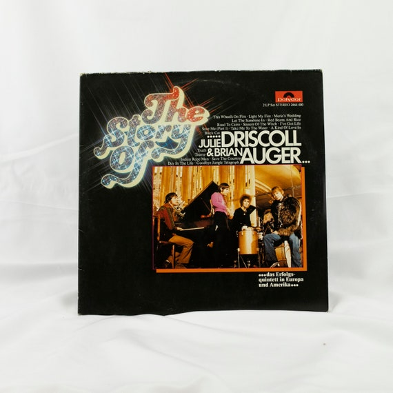 The Story of Julie Driscoll and Brian Auger - Vintage Vinyl Album