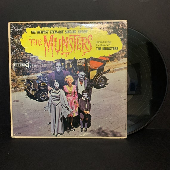 The Munsters The Newest Teen-Age Singing Group Decca DL 4588 original pressing vinyl record album