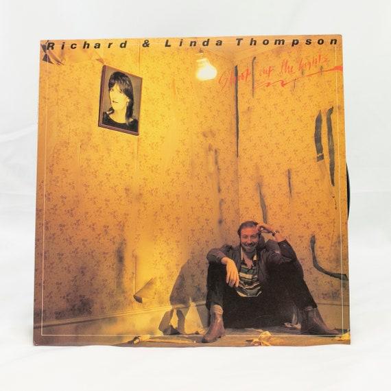 Richard & Linda Thomsen : Shoot Out The Lights - Vintage Vinyl Album