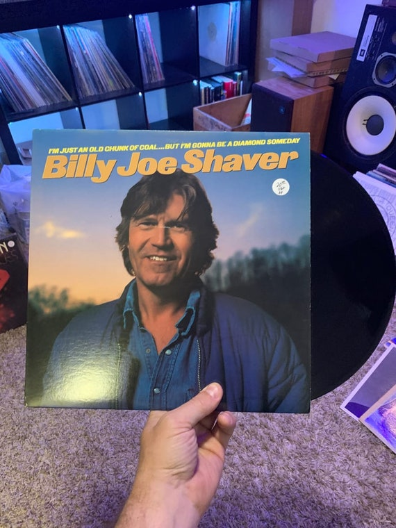 Billy Joe Shaver I'm Just An Old Chunk Of Coal But I'm Gonna Be A Diamond Someday vinyl record VG+ 1981, Vinyl lp Columbia, US, FC 37078