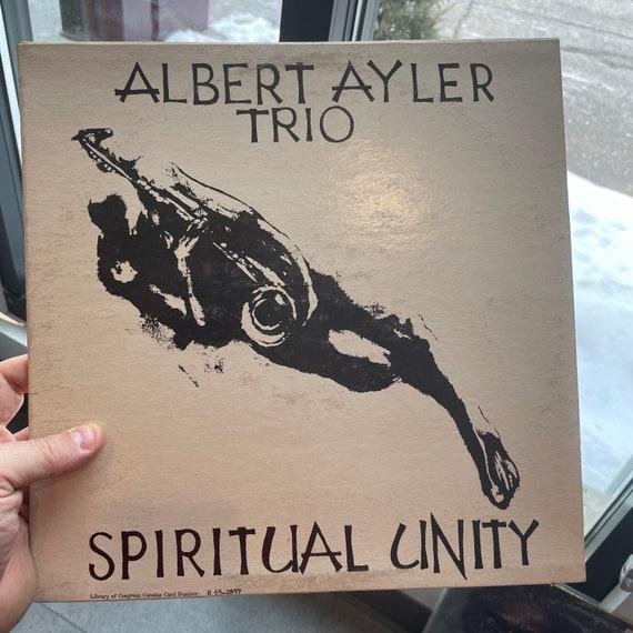 Albert Ayler Trio Spiritual Unity original pressing vinyl record album LP mono cover with stereo pressing vinyl