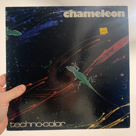 Chameleon Techno-Color original pressing vinyl record album VG+ with poster and order form
