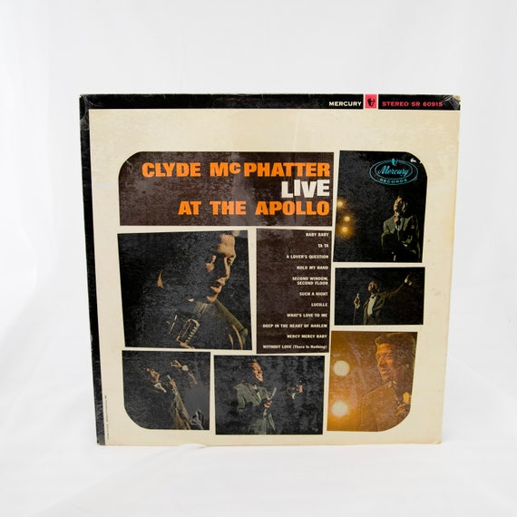 Clyde McPhatter : LIVE at the Apollo - Vintage Vinyl Album