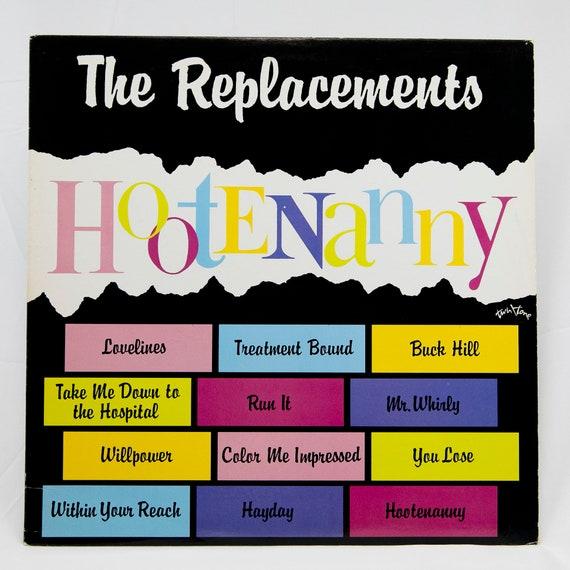 The Replacements Hootenanny original pressing vinyl record album NM