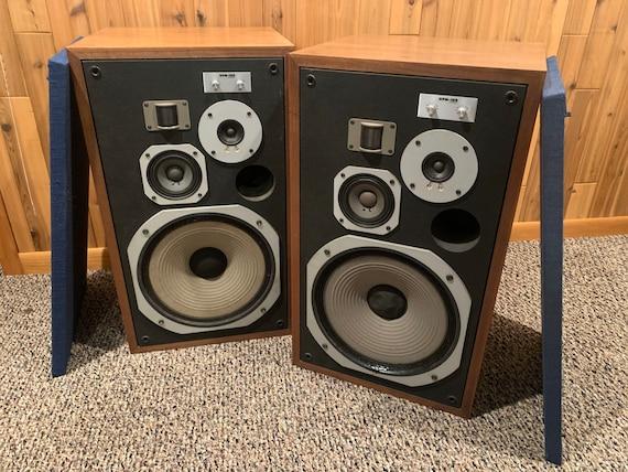 1976 Pioneer HPM-100 stereo speakers