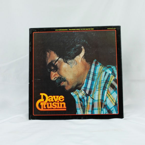 "Dave Grusin : Live Performance ""Discoverd Again"" - Vintage Vinyl Album"