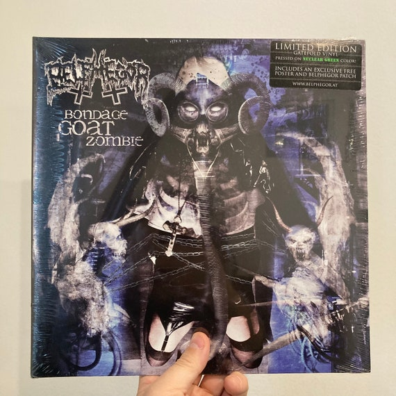 Belphegor Bondage Goat Zombie limited edition nuclear green vinyl record album SEALED MINT LP