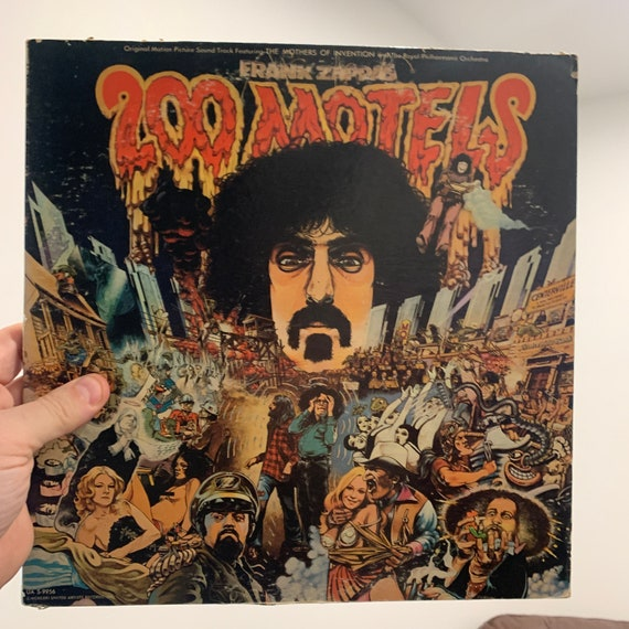 Frank Zappa and the Mothers of Invention 200 Motels original pressing motion picture soundtrack vinyl record album VG+
