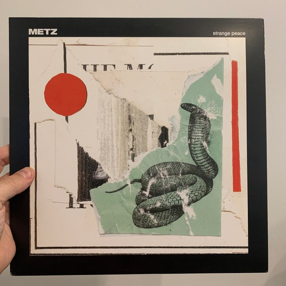 Metz Strange Peace vinyl record album LP NM