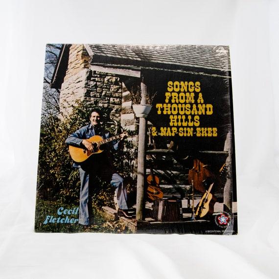 Cecil Fletcher : Songs From A Thousand Hills & Nap-sin-ekee - Vintage Vinyl Album