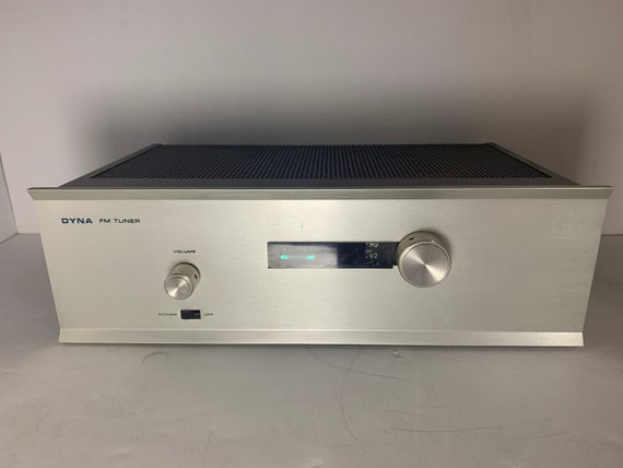 Dynaco Dyna Silver Face TUBE vintage FM Stereomatic Multiplex Tuner