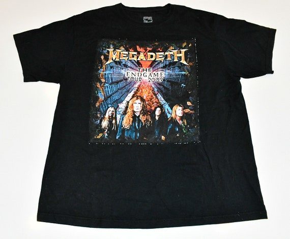Megadeth 2009 Endgame tour concert band tee shirt Men's XL