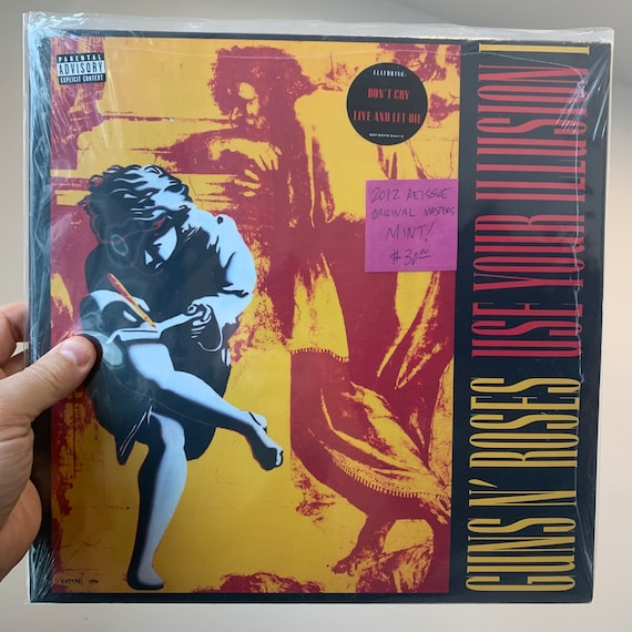 Guns N' Roses Use Your Illusion 1 reissue remastered 180G vinyl record album SEALED mint unplayed unopened