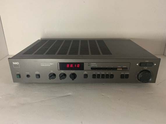 1988 NAD 7225PE Stereo AM/FM Power Envelope tuner 25 watts per channel