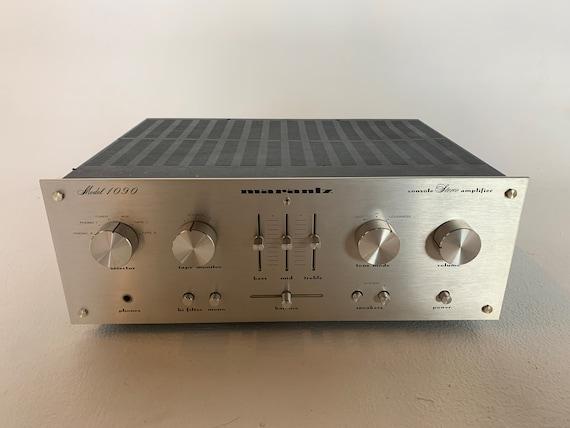 1977 Marantz Model 1090 silver face vintage integrated stereo amplifier SERVICED