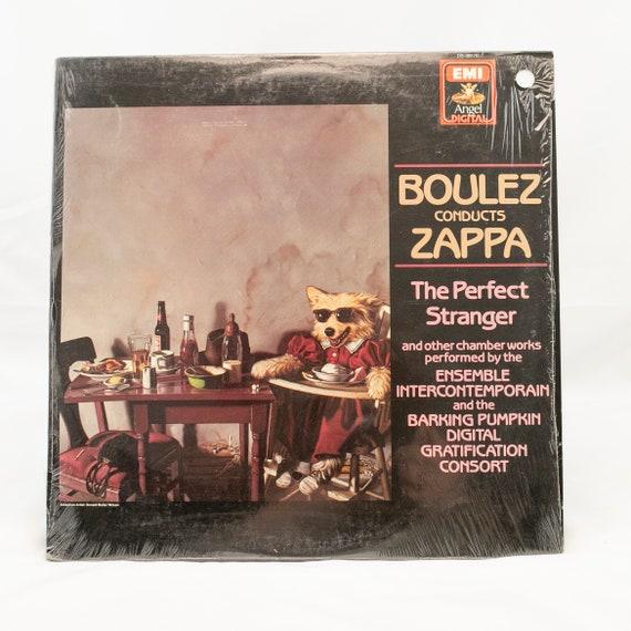 Boulez Conduett Zappa : The Perfect Stranger - Vintage Vinyl Album