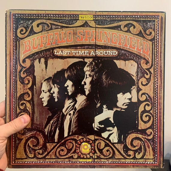 Buffalo Springfield Last Time Around original pressing vinyl record album VG+