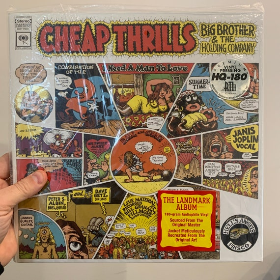 Janis Joplin Big Brother & The Holding Company Cheap Thrills 2011 remastered reissue 180g vinyl record album SEALED MINT