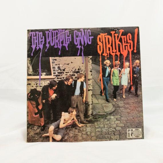 The Purple Gang : Strikes! - Vintage Vinyl Album