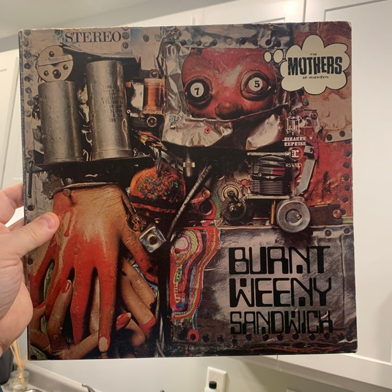 Frank Zappa Mothers of Invention Burnt Weeny Sandwich original pressing vinyl record album VG+