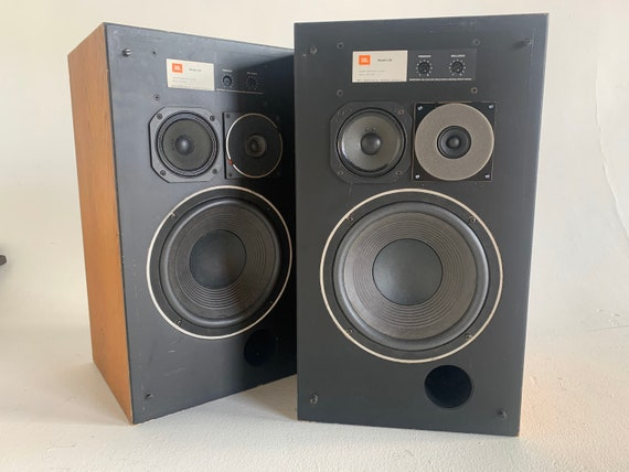 1975 JBL Decade L36 Vintage walnut floor standing stereo speakers PICKUP ONLY no shipping
