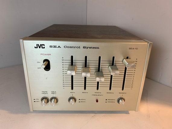 1978 JVC SEA-10 silver face vintage stereo equalizer