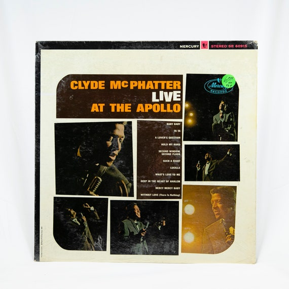 Clyde McPhatter : LIVE at the Apollo - Vintage Vinyl Recording