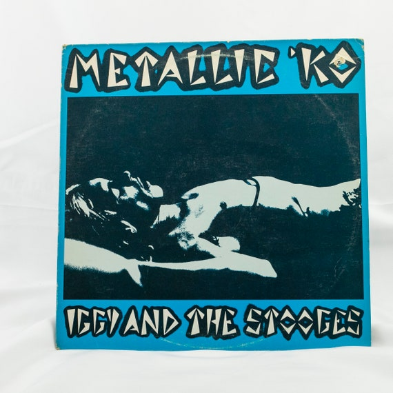 Iggy and The Stooges : Metallic KO - Vintage Vinyl Album