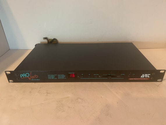 ART Pro Verb rack mount MIDI vintage reverb delay unit for instruments