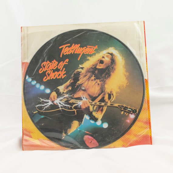 Ted Nugent ( Picture Disc ) : State of Shock - Vintage Vinyl Album