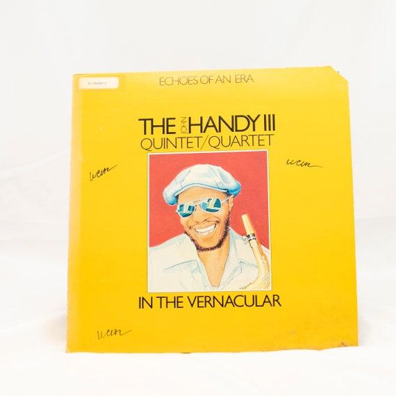 The John Handy III Quintet/Quartet : Echos of An Era / In The Vernaculer - Vintage Vinyl Album