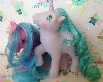 Vintage Hasbro My Little Pony ~Princess Primrose & Princess Sparkle