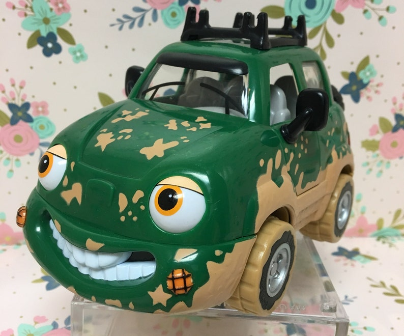 Vintage Chevron Toy Car Freddy 4 Wheeler Etsy