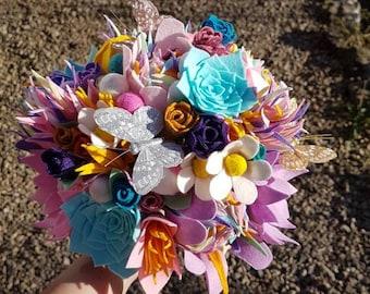 Carnival Felt Bouquet