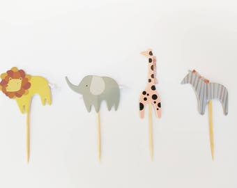 Safari/Zoo Cupcake Topper