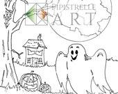 Halloween Digital Party P...