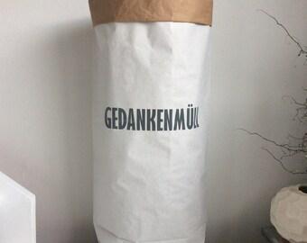 Paperbag for Living - Gedankenmüll