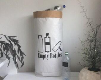 Paperbag for Living - Empty Bottles - Flaschen -Kitchen - Küche - Haushalt -  Keine Versandkosten innerhalb Deutschland