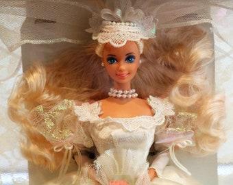 dream bride barbie vintage barbie bridal barbie wedding barbie wedding gown barbie wedding shower gift or decor