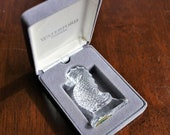 Waterford Crystal Seahorse Figurine in Original Box, Sea Horse Memento, Special Gift for Him or Her
