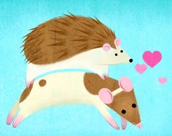 Hedgie & Hammie Love