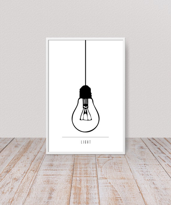 photo regarding Printable Room Decor identify Printable Minimalist Lamp Artwork For Tumblr Space Decor, Scandinavian Gentle Bulb Print, Innovative Wall Artwork Decor, Mid Century Black And White Artwork